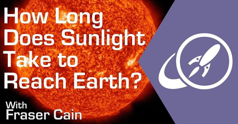 How Long Does It Take Light To Travel From The Sun To Earth