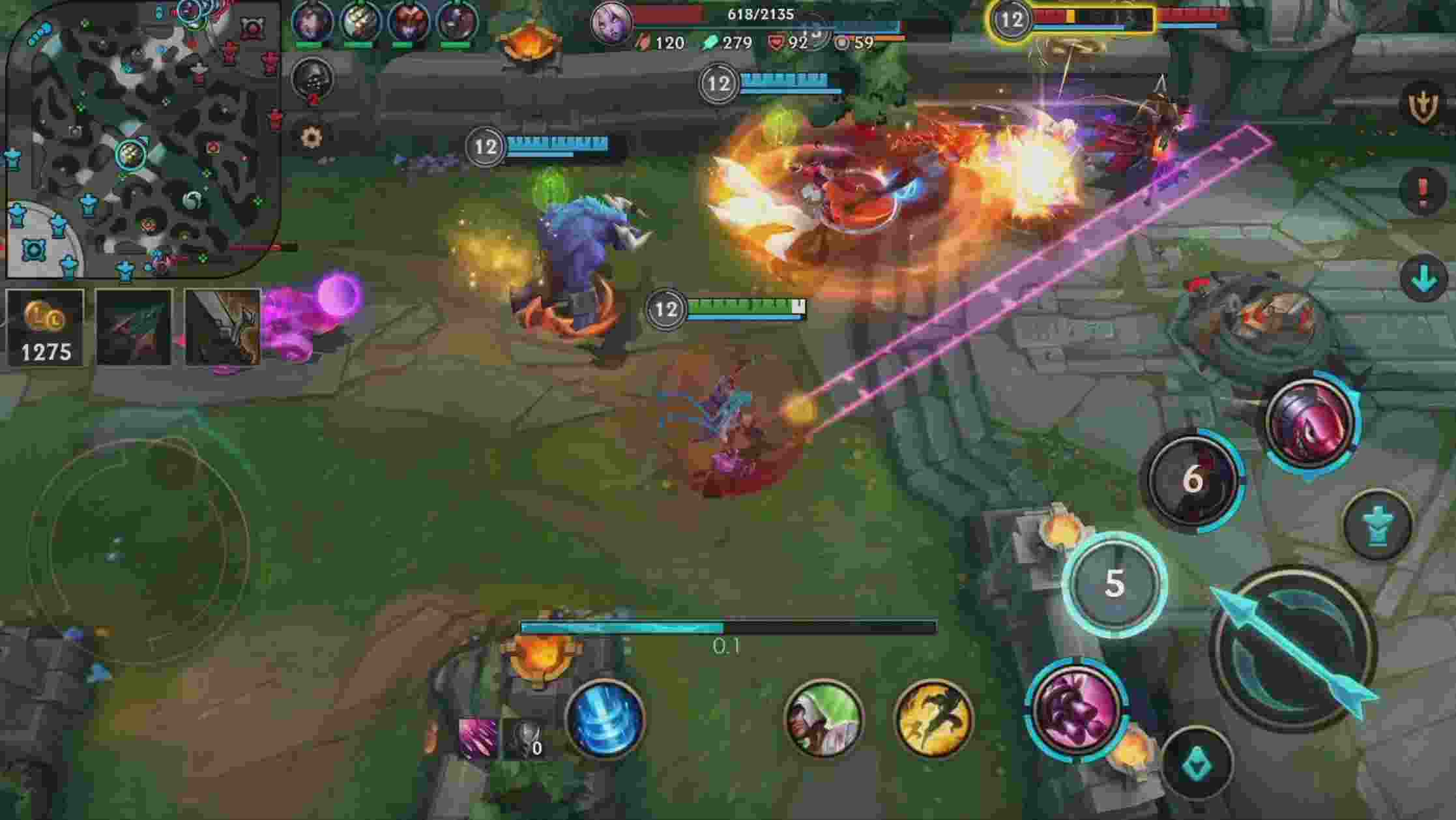 League of Legends Wild Rift android