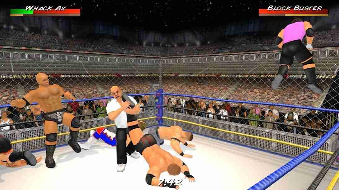 Wrestling Revolution 3D Mod Apk 1